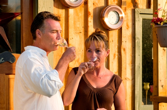 Les and Paulette Wade ~ Beaver Creek Winery NS